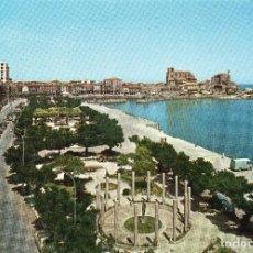 Postales: CASTRO URDIALES ( SANTANDER ) PARQUE AMESTOY Y PUERTO -CIRCULADA 1969-. Lote 101469971