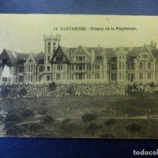 Postales: POSTAL - ESPAÑA - SANTANDER - 11.- PALACIO DE LA MAGDALENA - ESCRITA EN 1926. Lote 102285075