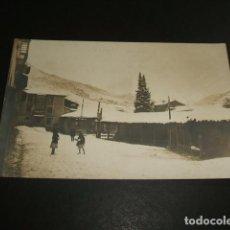 Postales: POTES CANTABRIA NEVADA POSTAL FOTOGRAFICA ALVARO FERNANDEZ FOTOGRAFO POTES SELLO EN SECO . Lote 102827719