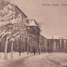 Postales: REINOSA NEVADA CALLE CANALEJAS CIR .- VER FOTO ADICIONAL. Lote 104628111