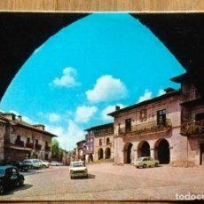 Postales: SANTILLANA DEL MAR - PLAZA MAYOR. Lote 105158919