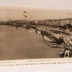 Postales: POSTAL CANTABRIA BAHIA. ED. ARRIBAS, CIRCULADA 1948.. Lote 105405179