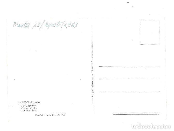 Postales: Laredo. Vista general. 1963 - Foto 2 - 105848555