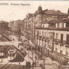 Postales: SANTANDER Nº9 PRIMERA ALAMEDA SIN DATOS EDITOR S.C.. Lote 105884855