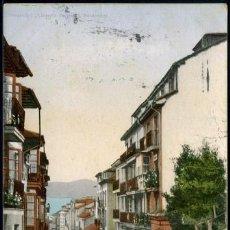 Postales: POSTAL SANTANDER CUESTA DE ATALAYA . LIBRERIA GENERAL - PURGER & CO. 3670 . CA AÑO 1900 .. Lote 105995815