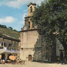 Postales: VEGA DE PAS - CANTABRIA - IGLESIA - AÑOS 60. Lote 108304623