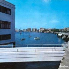 Postales: SANTANDER (CANTABRIA) - MUELLE CALDERÓN. CLUB MARÍTIMO . Lote 109159771