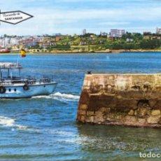 Postales: SANTANDER - VISTA PARCIAL (DESDE PEDREÑA) - AÑOS 60/70. Lote 109189363