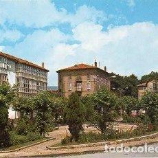 Postales: REINOSA - 3 JARDINES DE LA ESTACIÓN. Lote 109283491