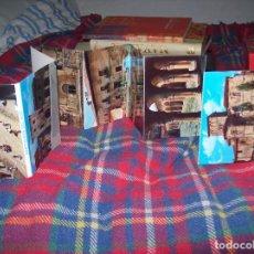 Postales: ESTUCHE CON POSTALES DESPLEGABLES DE SANTILLANA DEL MAR . VER FOTOS. . Lote 109350291
