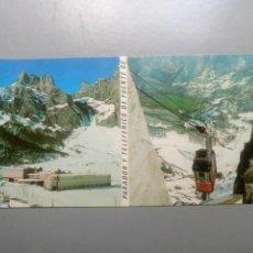 Postales: MÁXI POSTAL PARADOR Y TELEFÉRICO DE FUENTE DE 157 PICOS DE EUROPA. Lote 109378574