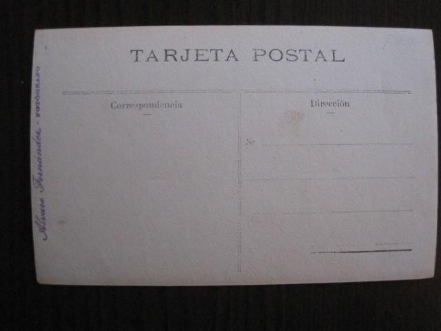 Postales: CAMALEÑO - POSTAL ANTIGUA FOTOGRAFICA- FOTOGRAFO ALVARO FERNANDEZ -VER FOTOS-(51.534) - Foto 4 - 109566371