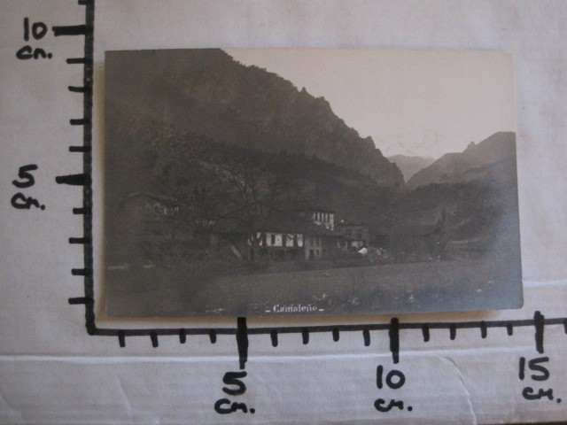 Postales: CAMALEÑO - POSTAL ANTIGUA FOTOGRAFICA- FOTOGRAFO ALVARO FERNANDEZ -VER FOTOS-(51.534) - Foto 6 - 109566371