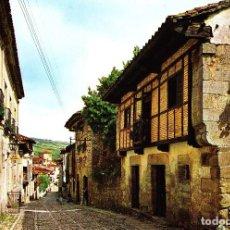 Postales: SANTILLANA DEL MAR -CALLE DEL CANTÓN- (DOMINGUEZ Nº 7) SIN CIRCULAR / P-1861. Lote 110022231