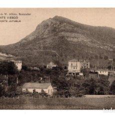 Postales: PUENTE VIESGO.- SANTANDER - MONTE JUYUELA . LIBRERÍA DE M. ALBIRA, SANTANDER - HAUSER Y MENET. Lote 110755439