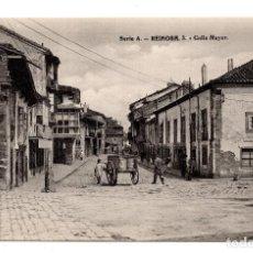Postales: REINOSA. CANTABRIA.- CALLE MAYOR. Nº 3 SERIE A - TIP. DE ARSELI DE IRÚN RODRIGUEZ. Lote 110756087