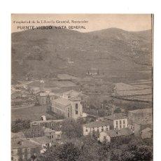 Postales: PUENTE VIESGO.- SANTANDER - VISTA GENERAL . PROPIEDAD DE LA LIBRERÍA GENERAL. Lote 110758239