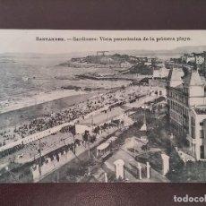 Postales: POSTAL DE SANTANDER, SARDINERO, VISTA PANORAMICA DE LA PRIMERA PLAYA, ED. J. PALACIOS, NO CIRCULADA.. Lote 110896319