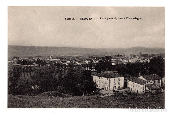 REINOSA. CANTABRIA.- VISTA GENERAL DESDE VISTA ALEGRE. Nº 1 SERIE A - TIP. DE ARSELI (Postales - España - Cantabria Antigua (hasta 1.939))