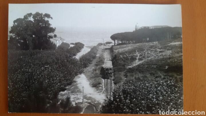 POSTAL SANTANDER. TRANVÍA DEL TUNEL. 1895 (Postales - España - Cantabria Antigua (hasta 1.939))