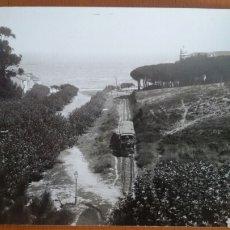 Postales: POSTAL SANTANDER. TRANVÍA DEL TUNEL. 1895. Lote 113150027