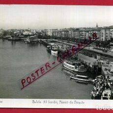 Postales: POSTAL SANTANDER, BAHIA, AL FONDO PASEO DE PEREDA P86720. Lote 114670887