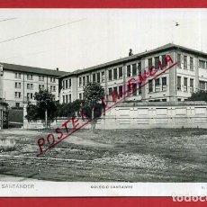 Postales: POSTAL SANTANDER, COLEGIO CANTABRO, P86722. Lote 114670951