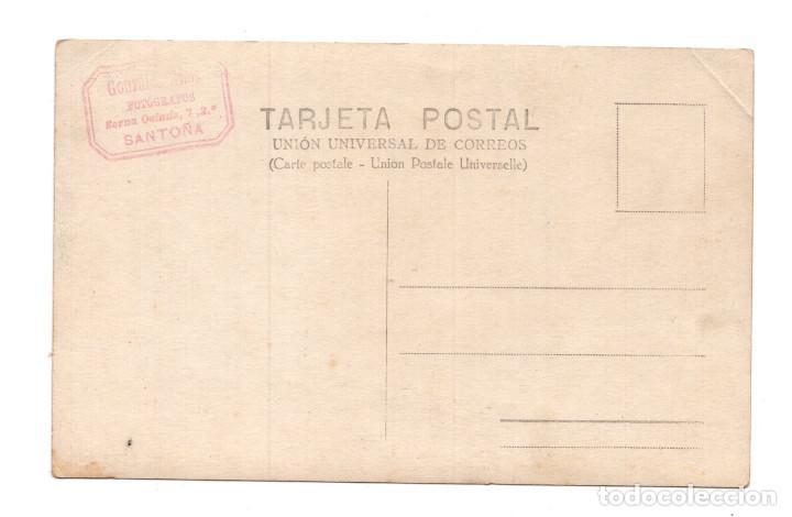 Postales: SANTOÑA. - CANTABRIA.- PLAYA BERRIA. FOTOGRAFÍA GONZALEZ HERMANOS - Foto 2 - 114916675