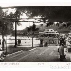 Postales: CANTABRIA CASTRO URDIALES PLAYA L. ROISIN, FOTO. POSTAL FOTOGRÁFICA, SIN CIRCULAR. Lote 115025647