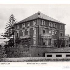 Postales: POSTAL DE CASTRO - URDIALES RESIDENCIA PEDRO VELARDE.. Lote 115139151