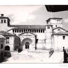 Postales: SANTILLANA DEL MAR. REAL COLEGIATA.FACHADA SIGLO XIII . Lote 115384355