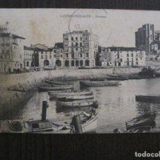 Postales: CASTRO URDIALES - POSTAL ANTIGUA - DARSENA -VER FOTOS - (52.298). Lote 115495031