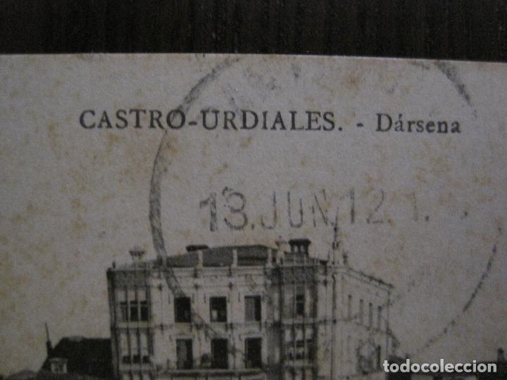Postales: CASTRO URDIALES - POSTAL ANTIGUA - DARSENA -VER FOTOS - (52.298) - Foto 2 - 115495031