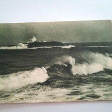 Postales: SANTANDER. EL FARO DE MOURO 1922.. Lote 116694371