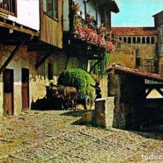 Postales: SANTILLANA DEL MAR, COLEGIATA. Lote 118577771