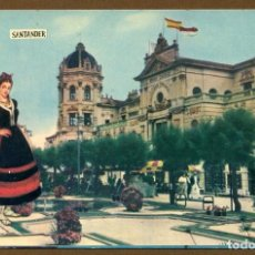 Postales: POSTAL SANTANDER GRAN CASINO DEL SARDINERO. Lote 118725051