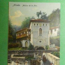 Postales: POSTAL - ESPAÑA - - CANTABRIA - ALCEDA - MOLINO DE LA FLOR - CASA FUERTES - SIN CIRCULAR. Lote 119243815