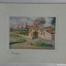 Postales: OLEOS DE MARNAY. 058 COMILLAS. Lote 119358426