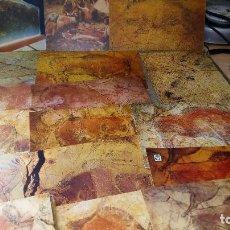 Postales: LOTE DE 28 POSTALES CUEVAS DE ALTAMIRA SANTANDER . Lote 120241699