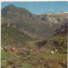 Cartes Postales: POSTAL DE SANTANDER. PICOS DE EUROPA. IGLESIA Y PUEBLO DE LEBEÑA P-CANT-589. Lote 120604303