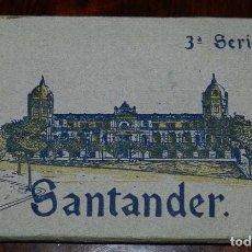 Postales: CUADERNILLO DE CON 15 POSTALES DE SANTANDER, 3ª SERIE, DE LA NUM. 31 A LA 45, ED. HELITIOPIA ARTISTI. Lote 120889699