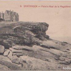 Postales: SANTANDER (CANTABRIA) - PALACIO REAL DE LA MAGDALENA. Lote 120917683