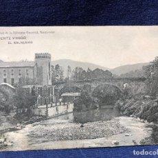 Postales: ANTIGUA POSTAL DE PUENTE VIESGO EL BALNEARIO SANTANDER LIBRERIA GENERAL SIN CIRCULAR . Lote 121708891