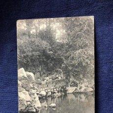 Postales: POSTAL ANTIGUA PUENTE VIESGO SANTANDER FUENTE MANANTIAL SIN CIRCULAR NI ESCRITA. Lote 121712011