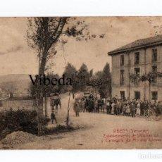 Postales: VIBEDA (SANTANDER) ESTABLECIMIENTO DE ULTRAMARINOS Y CARNECERÍA DE MARIANO IGLESIAS. E. CABRILLO. Lote 121781179