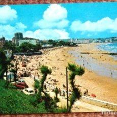 Postales: SANTANDER - PLAYA DEL SARDINERO. Lote 121845107