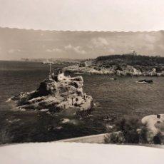 Postales: SANTANDER. POSTAL NO.12 EL SARDINERO. ENSENADA DEL CAMELLO (H.1950?). Lote 122048138