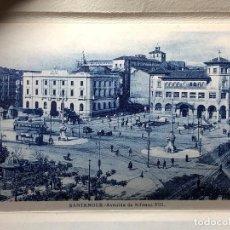 Postales: POSTALES VISTAS 10 RECUERDO DE SANTANDER AVDA. ALFONSO XIII PASEO DE LA PEREDA EL SARDINERO S XX. Lote 122060695