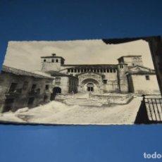Postales: POSTAL SIN CIRCULAR - SANTILLANA DEL MAR 33 - LA COLEGIATA - SANTANDER - EDITA DOMINGUEZ. Lote 122068983