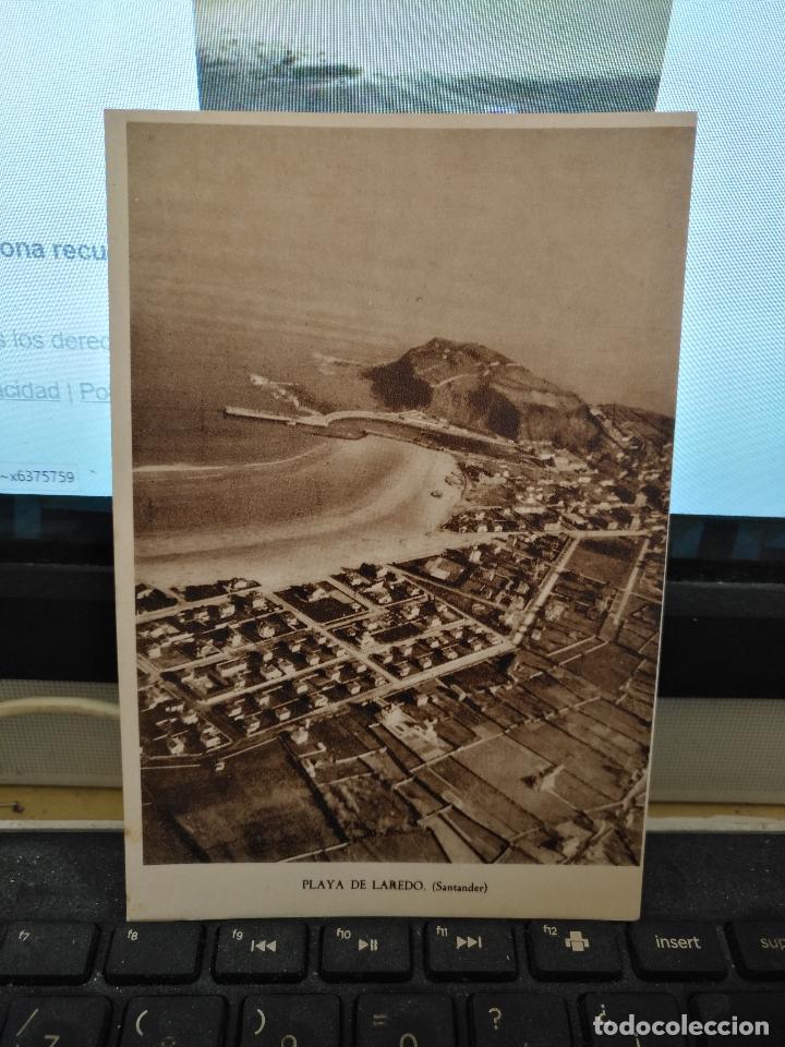 CANTABRIA - ANTIGUA POSTAL PLAYA DE LAREDO SANTANDER Nº 8 (Postales - España - Cantabria Antigua (hasta 1.939))